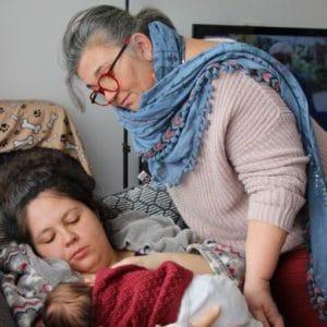 Photo de Natalie Lelong, consultante en lactation
